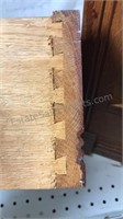 Antique Oak Floor Cabinet