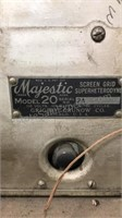 Majestic Model 20 Antique Tube Chassis Wooden