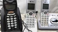 AT&T and GE Cordless Analog Phone Set