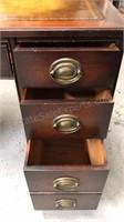 Vintage Executive Desk w/ original brass hardware