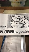 """Skilcraft """"The Flower Candle Maker"""" Candle making"""