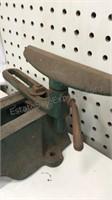 Antique Montgomery Ward Pow-R-Craft Bench Wood
