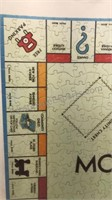 Vntg Parker Brothers 1961 Monopoly Board Jigsaw