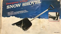 Emergency 3pc Snow Shovel new in box Unopened
