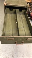 Steel 5 Drawer Card File Cabinet 28x19x42""