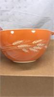 Vintage Pyrex 4pc Mixing Bowl Set Harvest Gold