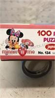 Walt Disney Minnie Mouse Open Box Jigsaw Puzzle