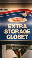 Portable Wardrobe Storage Closet Still new