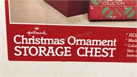 Lot of 2 Hallmark Christmas Ornaments Storage