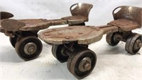 Pair of Antique Speed King Metal Adjustable
