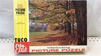 Lot of 2 Tuco Picture Puzzles open boxes