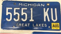Lot of 4 Novelty License Plates