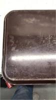 """Vintage Fiberglass 20""""x15"""" Cafeteria Tray Bolta"""