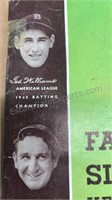 Lot of 2 Famous Slugger Yearbooks 1943 & 44