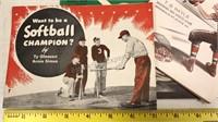 Lot of Vintage Sports Instruction Magazines