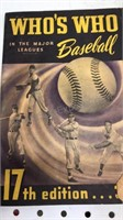 """5 Vintage  """"Who's Who In Baseball? 1930's & 40's"""