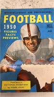 1950 Football Facts and Figures Magazine