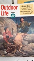 Lot of  Outdoor Life Magazines 1950
