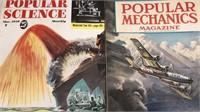 Lot of 2 Popular Science & Popular Mechanics