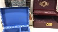 Lot of 3 Jewelry / Keepsake Boxes
