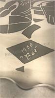 "Lot of 3 Vintage 15"" Diameter Stamped & Etched"