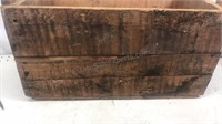 """Antique Wooden Shipping Box 10x20x10"""""""