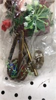 Lot of 7 Small  Wind chimes