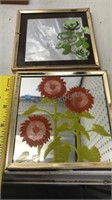 Lot of 11 Picture frames, Wall Art, mirrors and
