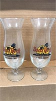 Lot of 2 Hard Rock Cafe Los Angeles Hurricane