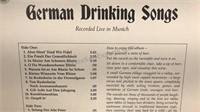 Lot of 3 Vintage Vinyl German Beer Garden Songs