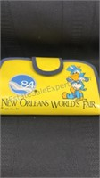 Lot of 3 1984 New Orleans Worlds Fair Souvenirs
