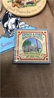 Lot of Vintage Travel Ephemera Postcards Maps
