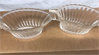 Lot of 4 Vintage Cream and Sugar Matching Sets