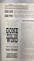 Gone With the Wind Movie Soundtrack Vintage Vinyl