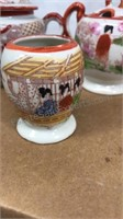 Vintage Made In Japan Ceramic Miniature 7pc