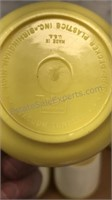 Vintage 11pc Lot of Vacron Plastic Dinner Ware