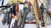 Lot of Kitchen Utensils some new in package
