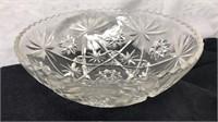 """2 10"""" Vintage Glass Decorative Bowls"""