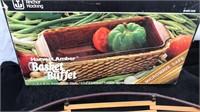 Anchor Hocking Basket Buffet In original box plus