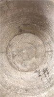 """Galvanized Bucket with Wood Handle 11x12"""""""