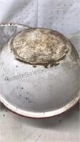 Lot of 3 Enamel Coated Metal Bowls