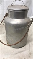 Lot of 6 Aluminum and Galvanized Containers