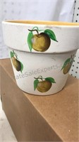 Lot of 10 Ceramic Plant Containers