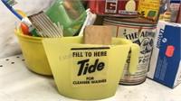 Vintage Box  Lot of Garage Cabinet Items 20+ pcs