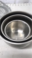 Lot of Stainless Steel Cookware and accessories