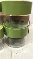 Lot of 9 Vintage Pyrex Ware Storage Containers