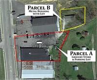 Multi-Parcel Bankruptcy Auction | Store Building & Extra Lot