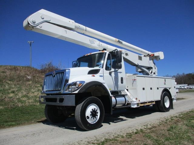 2011 ALTEC AA755MH MOUNTED ON 2012 INTERNATIONAL 7300 SFA For Sale in Mt  Airy, North Carolina