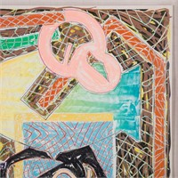 """Frank Stella, """"Shards II,"""" from Shards, lithograph"""
