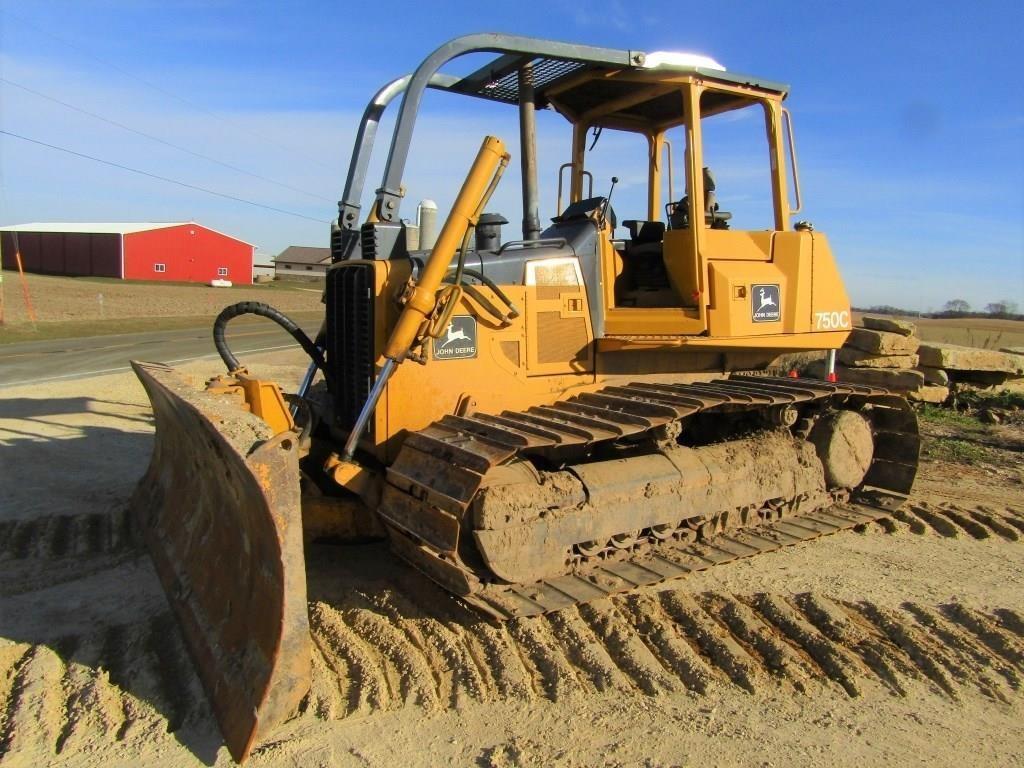 DEERE 750C DOZER | Wisconsin Tractor